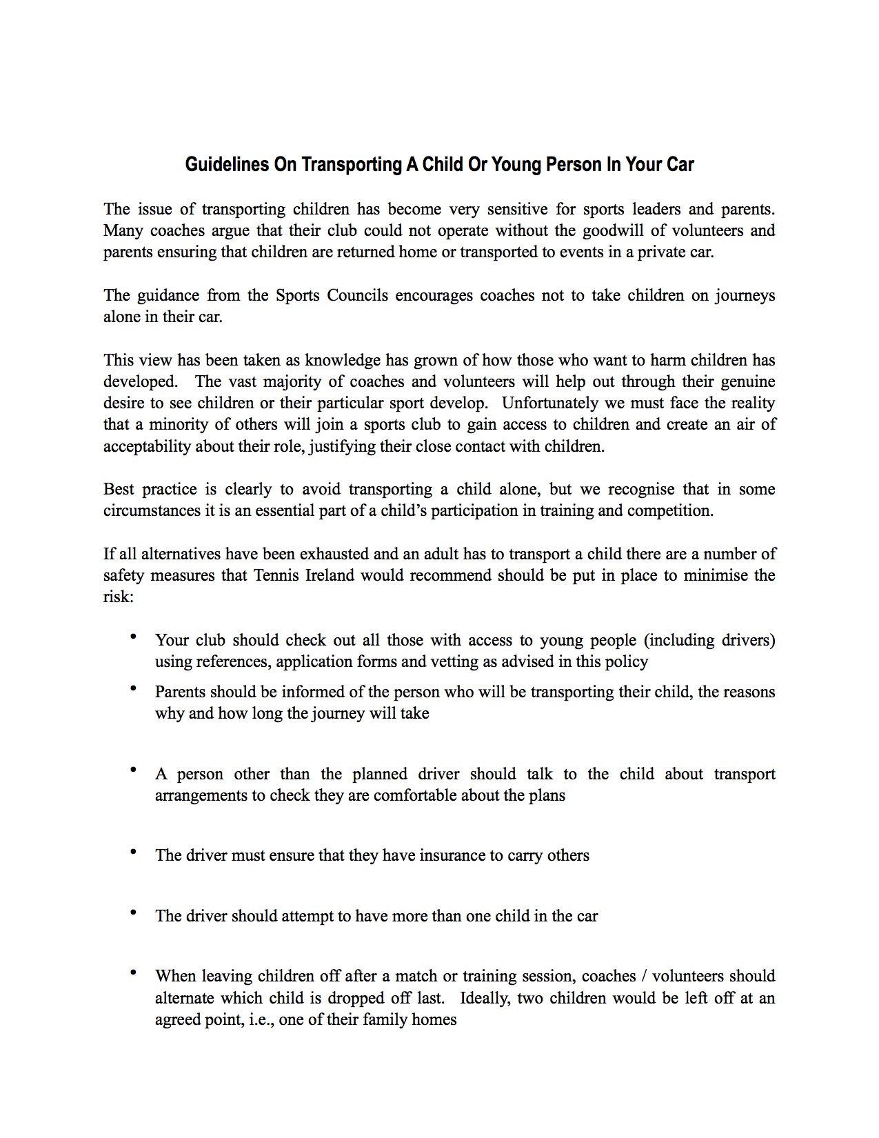 Transporting-Children-In-Your-Car